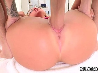 Pretty Katerina Kay loves huge cock