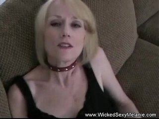 Playing with her grandsons cum