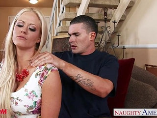 Very sexy mom Holly Heart gets big tits fucked