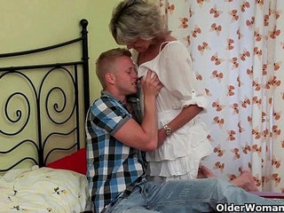 Blow your load on moms face